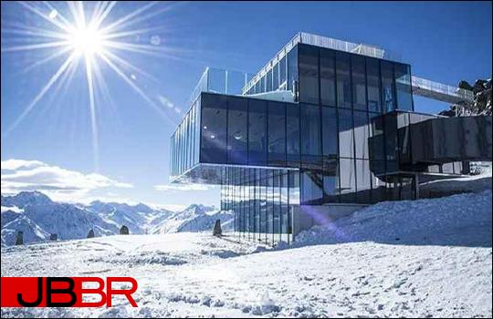 """O restaurante IceQ em Sölden será uma das locações de """"SPECTRE"""" © Divulgação"""