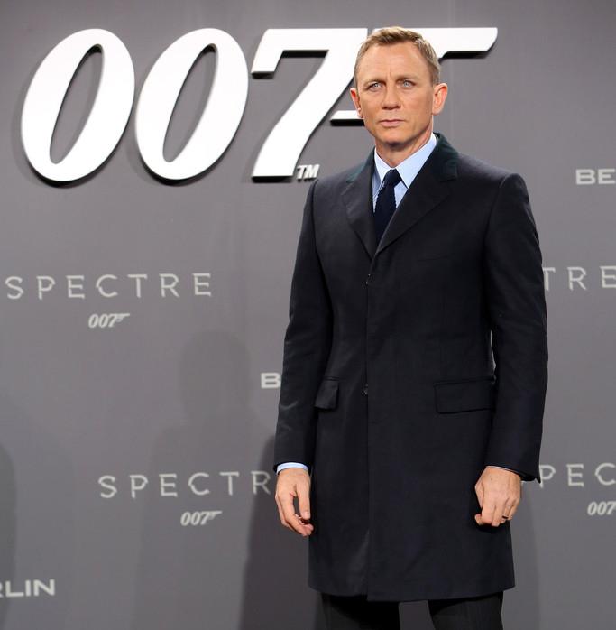 """Daniel Craig na estreia de """"007 Contra SPECTRE"""" em Berlim © WireImage"""