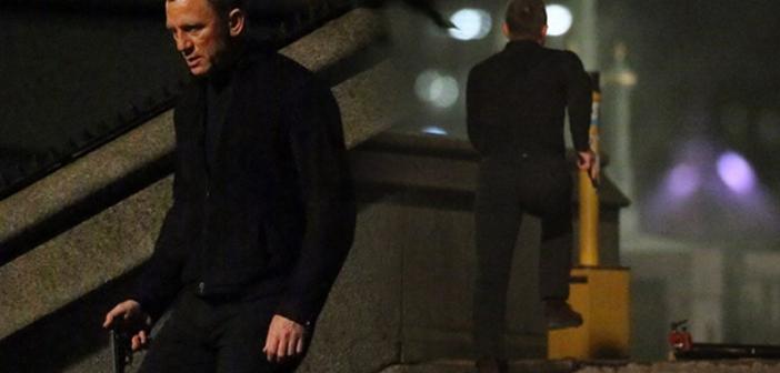 """Daniel Craig grava """"007 Contra SPECTRE"""" no centro de Londres"""