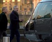 "Primeiras fotos de Christoph Waltz no set de ""007 Contra SPECTRE"""