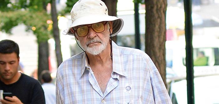 Sean Connery faz rara aparição pública em Aeroporto