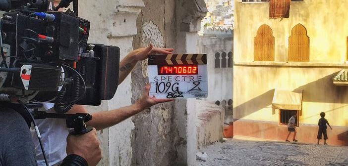 """Claquete de """"007 Contra SPECTRE"""" revela início de filmagens no Marrocos"""