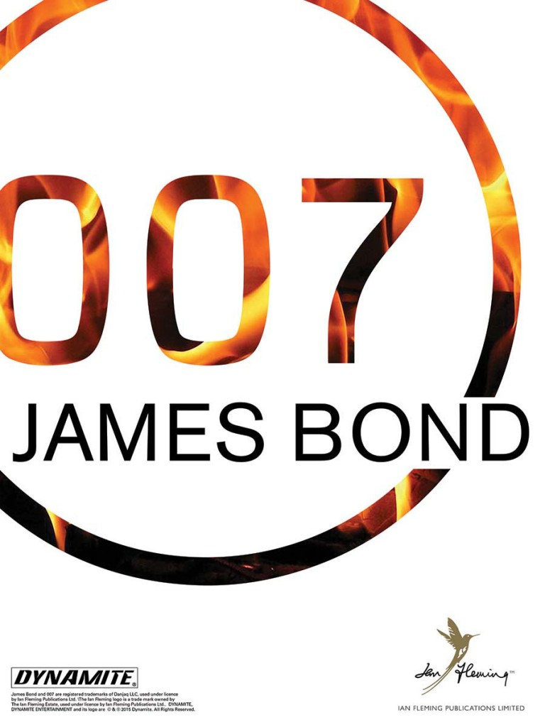 "Capa de ""James Bond 007"" © Dynamite Entertainment"