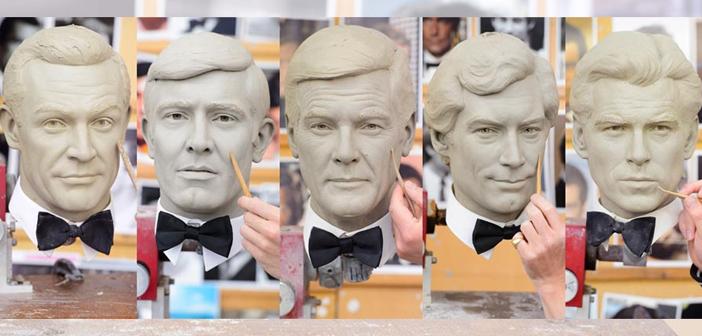 Museu de cera de Londres irá reunir estátuas dos seis atores que foram James Bond