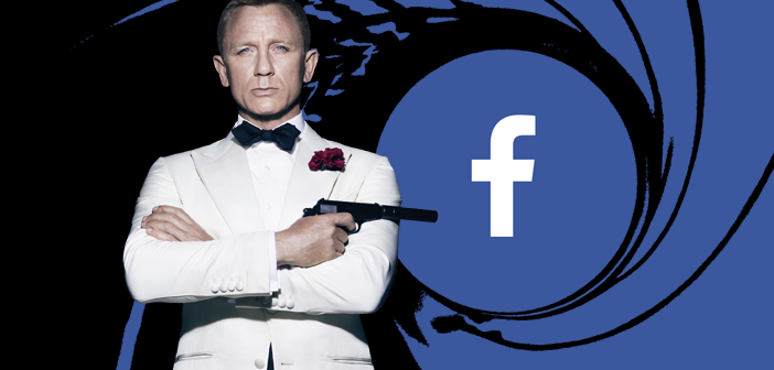 Facebook do James Bond Brasil chega aos 30.000 seguidores