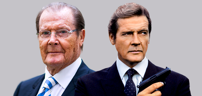 Roger Moore completa 89 anos