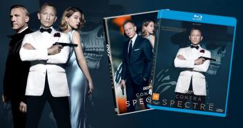 """Anunciada data de lançamento do DVD e Blu-ray de """"007 Contra SPECTRE"""""""