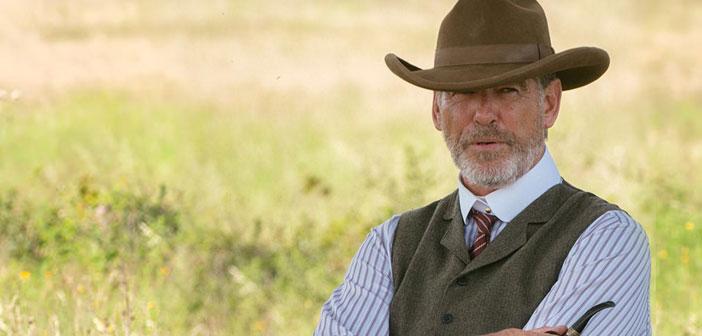 """Primeiras imagens de Pierce Brosnan na série de TV """"The Son"""""""