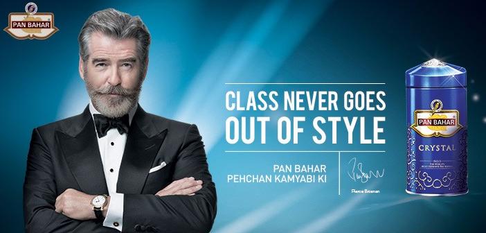 Pierce Brosnan está de volta como 007 em comercial na Índia