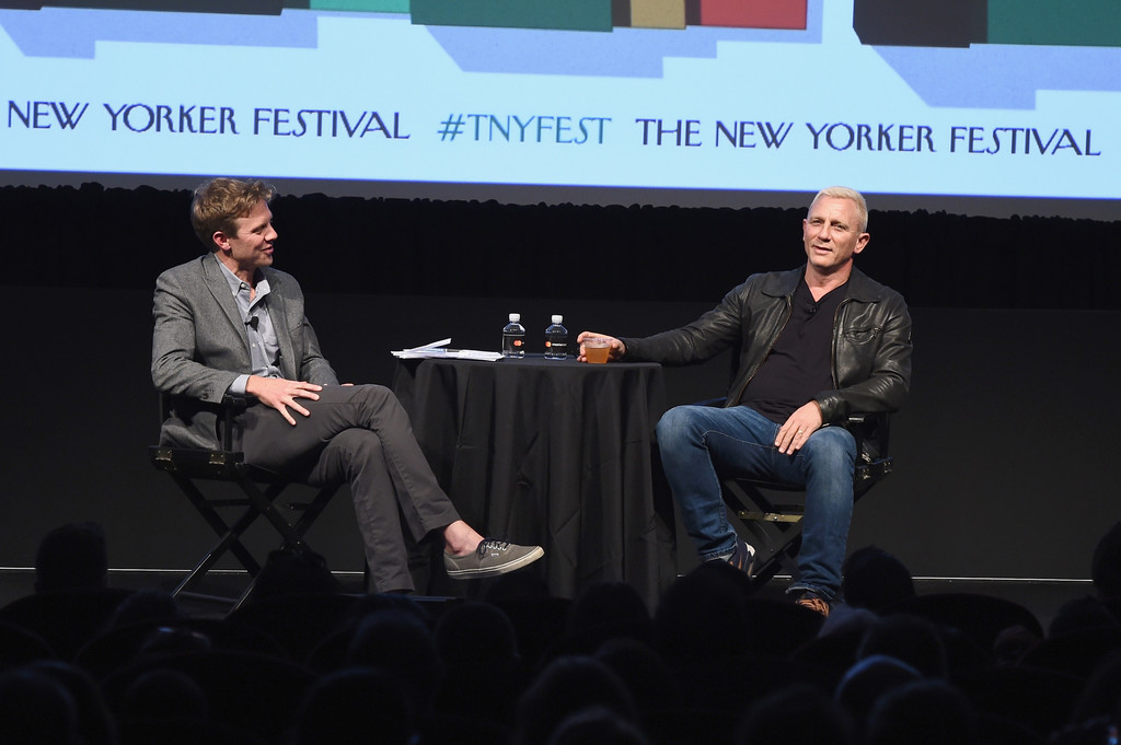 Nicholas Schmidle e Daniel Craig © Foto Ilya Savenok / Getty Images