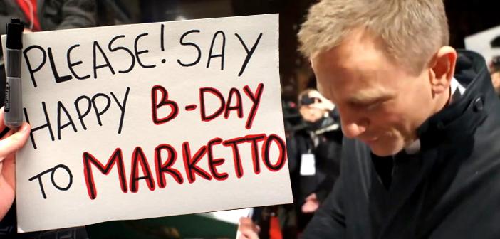 Daniel Craig manda mensagem de aniversário para editor do James Bond Brasil