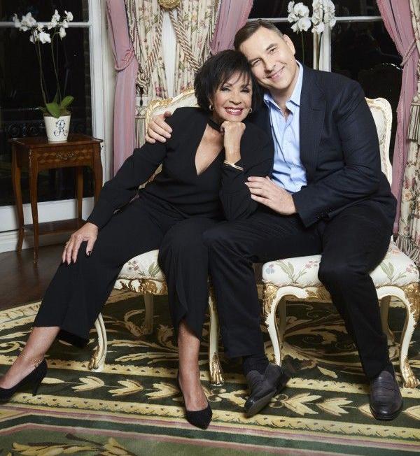 Shirley Bassey e David Walliams © BBC