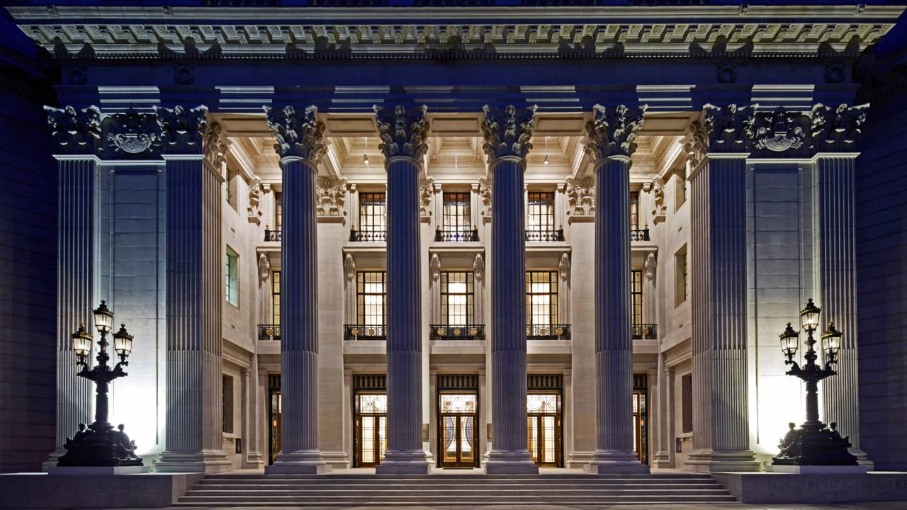 Four Seasons Hotel London at Ten Trinity Square © Divulgação