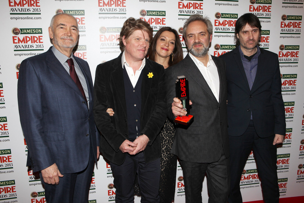 Michael G. Wilson, Robert Wade, Barbara Broccoli, Sam Mendes e Neal Purvis © Getty Images