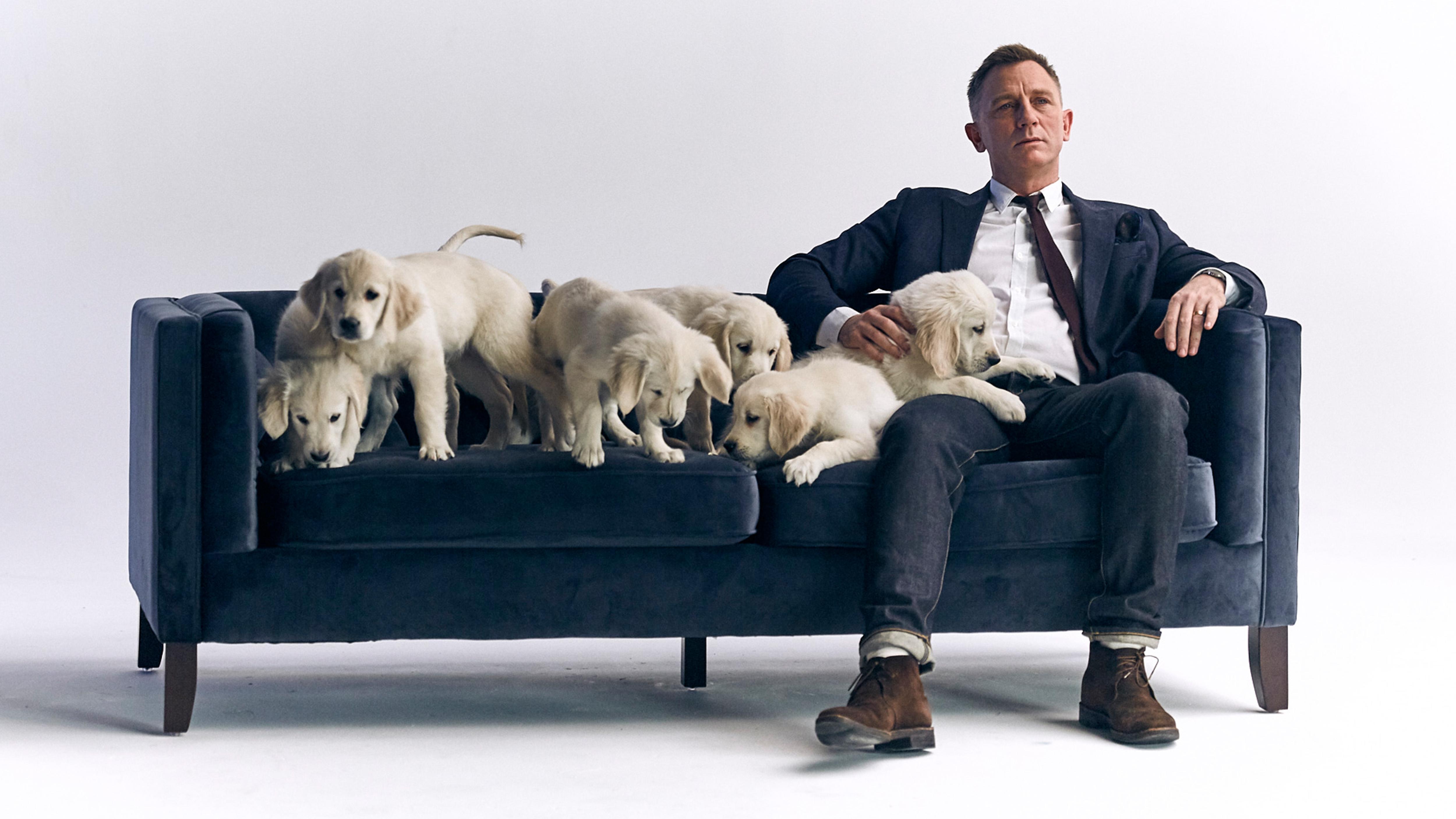 Daniel Craig na campanha beneficente da Omaze © Divulgação