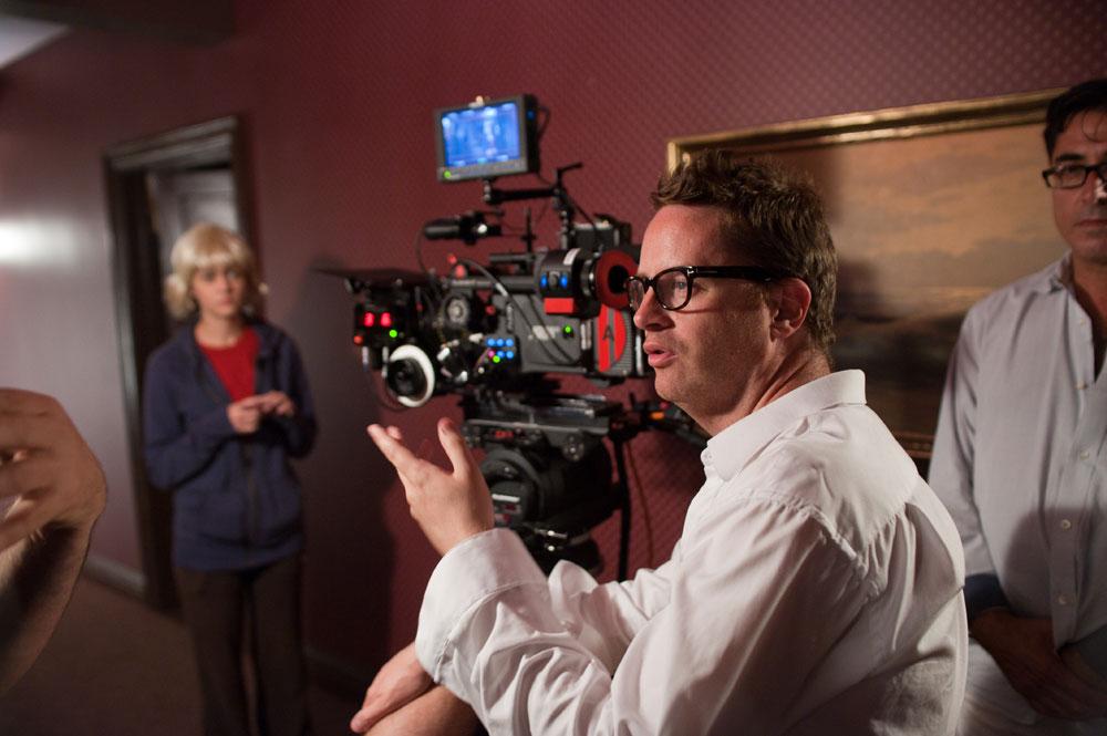 """Nicolas Winding Refn no set de """"Drive"""" © 2011 - FilmDistrict"""