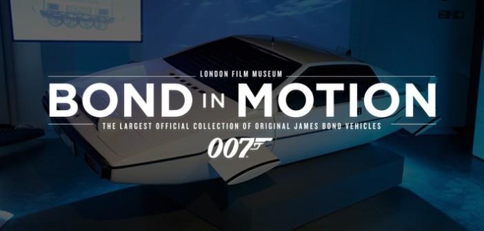 Exposição Bond In Motion é diversão garantida para toda família