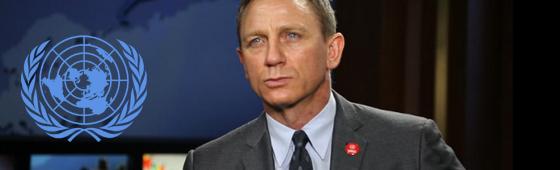 Daniel Craig é nomeado Defensor Global da ONU na luta contra minas e outros explosivos