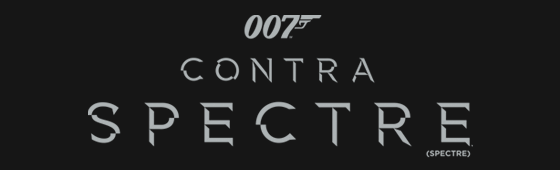 "Divulgado Teaser Pôster nacional de ""007 Contra SPECTRE"""