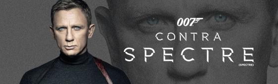 "Confira as versões internacionais do Teaser Pôster de ""007 Contra SPECTRE"""
