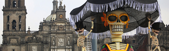 Produção toma conta do centro histórico da Cidade do México