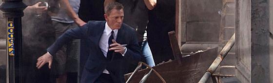 """Daniel Craig volta à ação nas filmagens de """"007 Contra SPECTRE"""" no México"""